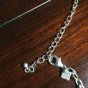 Banana Republic Jewelry - Banana Republic Pendant Necklace with Rhinestones